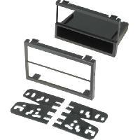 Facade autoradio Mazda Facade autoradio 2Din compatible avec Mazda 94-04 avec vide-poche