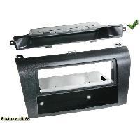 Facade autoradio Mazda Facade autoradio compatible avec Mazda 3 03-09 avec clim automatique noir