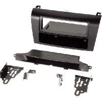 Facade autoradio Mazda Kit 1Din compatible avec Mazda 3 04-08 avec vide-poche - Clim Auto