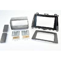Facade autoradio Mazda Kit 2DIN compatible avec Mazda 6 ap10 - noir brillant