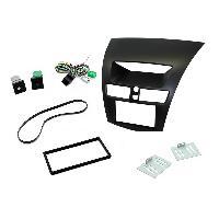 Facade autoradio Mazda Kit 2 DIN compatible avec Mazda BT 50 ap12 noir
