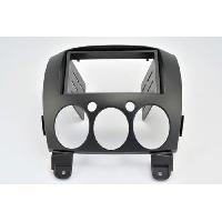 Facade autoradio Mazda Kit 2DIN pour Mazda 2 ap08 - ADNAuto