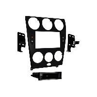 Facade autoradio Mazda Kit 2 DIN pour Mazda 6 06-08 Noir - ADNAuto