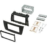 Facade autoradio Mazda Kit 2Din Autoradio compatible avec Mazda 6 08-11 - noir brillant