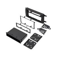 Facade autoradio Mazda Kit 2Din pour Mazda CX-9 07-09 - noir mat ADNAuto