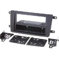 Facade autoradio Mazda Kit 2Din pour Mazda CX-9 07-09 avec vide-poche - ADNAuto