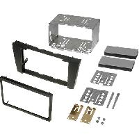 Facade autoradio Mercedes Kit 2Din compatible avec Mercedes Classe E W211 ap02