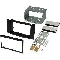 Facade autoradio Mercedes Kit Facade Autoradio KA198B compatible avec Mercedes ML W164 05-11 noir