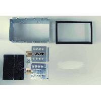 Facade autoradio Mitsubishi Kit 2DIN Pioneer CA-HM-MIT-PSA.002 argent pour C-Zero iON iMIEV
