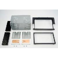 Facade autoradio Mitsubishi Kit 2DIN pour Mitsubishi Colt 04-08 - Noir - ADNAuto