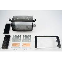 Facade autoradio Mitsubishi Kit 2DIN pour Mitsubishi Outlander ap07 - ADNAuto