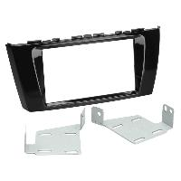 Facade autoradio Mitsubishi Kit Support Autoradio pour Mitsubishi Space Star - Noir brillant Generique