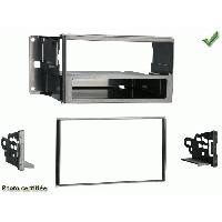 Facade autoradio Nissan Facade Autoradio compatible Nissan CUBE 2009+ Kit Simple et Double Din Generique