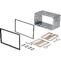 Facade autoradio Nissan Kit 2Din compatible Nissan Qashqai 06-13 - ADNAuto