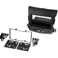 Facade autoradio Peugeot Kit 2DIN Autoradio FA242 compatible avec Citroen C-Crosser Mitsubishi Outlander Peugeot 4007