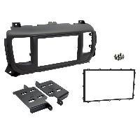 Facade autoradio Peugeot Kit 2DIN Autoradio pour Citroen Jumpy 3 Peugeot Expert 3 ap16 - Noir