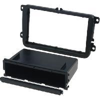 Facade autoradio Seat Facade autoradio FA261B compatible avec Seat Skoda VW noir brillant