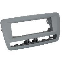 Facade autoradio Seat Facade autoradio FA898A compatible avec SEAT IBIZA ap13 - gris clair