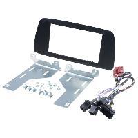 Facade autoradio Seat Kit 2Din compatible avec Seat Ibiza ap14 - graphite