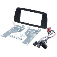 Facade autoradio Seat Kit 2Din pour Seat Ibiza ap14 - graphite - ADNAuto