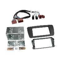 Facade autoradio Seat Kit Facade Autoradio KD8083 compatible avec Seat Ibiza ap14 - Gris Tuam - Avec rallonge A1BO