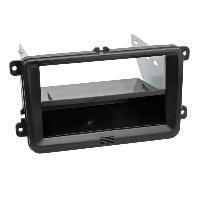 Facade autoradio Seat Kit Facade autoradio KFWV301 compatible avec Seat Skoda VW ap03 Avec vide poche