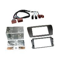 Facade autoradio Seat Kit facade compatible avec Seat Ibiza Noir Nit Avec rallonge A1BO