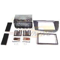 Facade autoradio Seat Kit integration 2DIN pour Seat Leon ap05 - Anthracite - RAF4004D Caliber