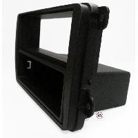 Facade autoradio Skoda Facade autoradio 1DIN pour Skoda Roomster ap06 - Noir - avec vide poche