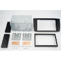 Facade autoradio Skoda Kit 2DIN compatible avec Skoda Octavia 04-07 - Noir