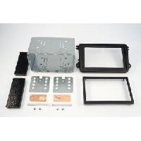 Facade autoradio Skoda Kit 2DIN compatible avec Skoda Octavia II ap07