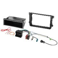 Facade autoradio Skoda Kit Installation Autoradio KITFAC-145-2 compatible avec Seat Skoda Volkswagen
