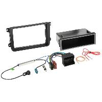 Facade autoradio Skoda Kit Installation Autoradio compatible avec Seat Skoda Volkswagen