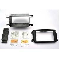 Facade autoradio Smart Kit 2DIN compatible avec Smart ForTwo ap10 - Noir