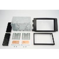 Facade autoradio Smart Kit 2DIN pour Smart ForTwo 07-10 Forfour 04-10 - Noir - ADNAuto