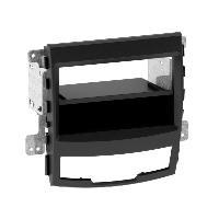 Facade autoradio SsangYong Facade autoradio FA1275E compatible avec SSangYong Korando - Noir 1Din Vp