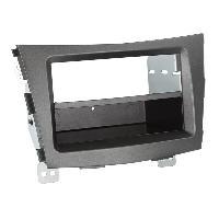Facade autoradio SsangYong Kit Facade autoradio KF7515A compatible avec Ssangyong Tivoli ap15 2Din VP - Anthracite