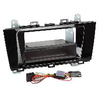 Facade autoradio Subaru Kit Facade autoradio 2DIN pour Subaru Outback ap15 Avec vide poche Inbay Noir brillant Generique