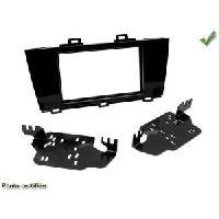 Facade autoradio Subaru Kit integration compatible avec Subaru Outback Noir Laque