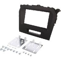 Facade autoradio Suzuki Facade autoradio 2DIN compatible avec Suzuki Grand Vitara ap14 - Noir brillant - ADN-FA