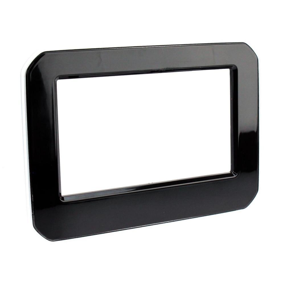 Facade autoradio 2DIN pour Suzuki Ignis 3 ap17 Noir brillant ADNAuto