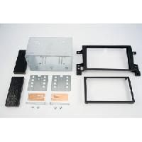 Facade autoradio Suzuki Kit 2DIN compatible avec Suzuki Grand Vitara ap05 - Noir