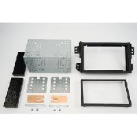 Facade autoradio Suzuki Kit 2DIN compatible avec Suzuki Splash - Noir