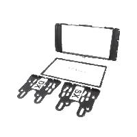 Facade autoradio Toyota Facade Autoradio 2DIN compatible avec Toyota Hilux ap11 - Noir