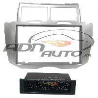 Facade autoradio Toyota Facade Autoradio FA413A compatible avec Toyota Yaris Argent 2Din VP