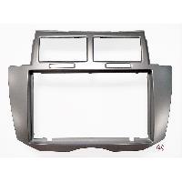 Facade autoradio Toyota Facade Autoradio compatible avec Toyota Yaris 09-11 Argent