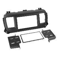Facade autoradio Toyota Kit 2DIN Toyota Proace Verso ap16 - Noir