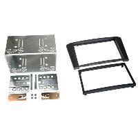 Facade autoradio Toyota Kit Facade Autoradio FA184B compatible avec Toyota Avensis 03-09 - 2DIN - noir