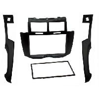 Facade autoradio Toyota Kit Facade Autoradio compatible avec Toyota Yaris Noir