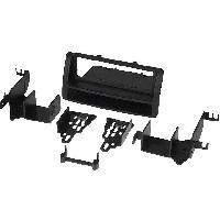Facade autoradio Toyota Kit Facade autoradio 1 DIN compatible avec Toyota Corolla 03-08 avec vide poche - noir